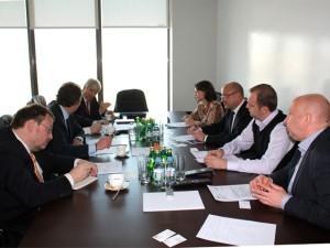 DBI и Корпорация Развития обсудили перспективы сотрудничества в реализации инфраструктурных проектов