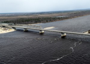 Мост через реку Пур2018